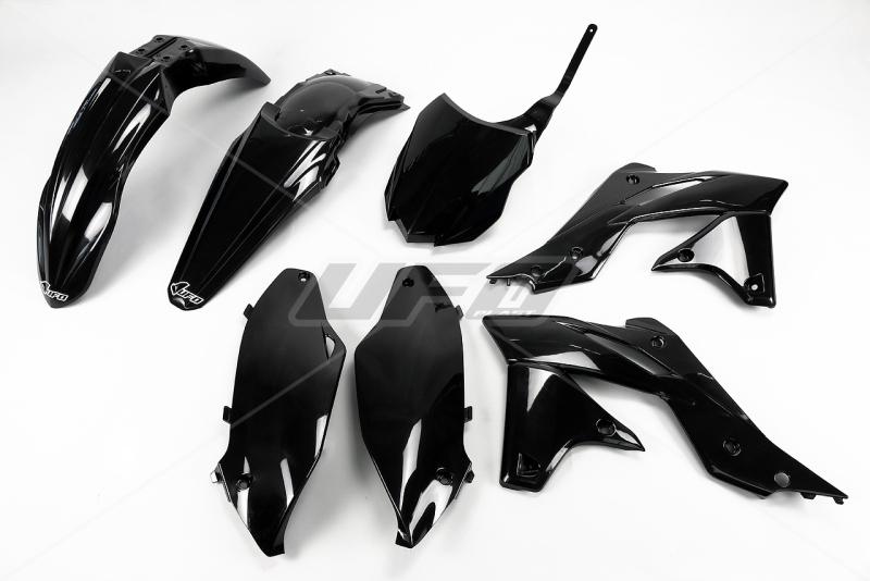 Sada plastů UFO KXF 250 2014-2016-001-černá