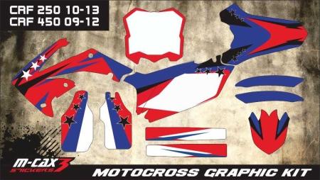 Design 16 - Honda CRF R 450  2009 - 2012, Honda CRF R 250  2010 - 2013