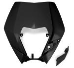 Plast pro OEM masku se světlem EXC 2009-2013-001-černá