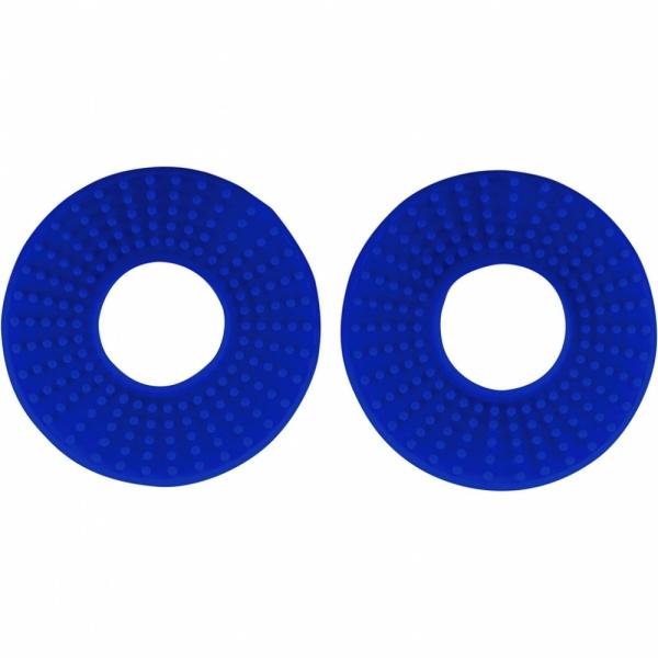Kroužky gumové k ručkám řídítek  pár-089-modrá