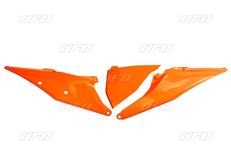 Bočnice / air box SX-SXF 2019-127-oranžová (03-)
