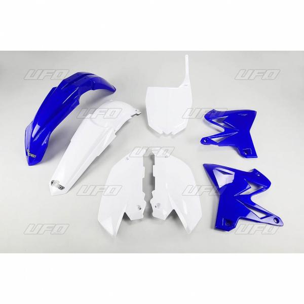 Sada plastů YZ 125-250 Restiling-999W-standartní barvy - BÍLÁ