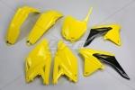 Sada plastů RMZ 250 2013--102-žlutá RM 02-