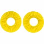 Kroužky gumové k ručkám řídítek  pár-102-žlutá RM 02-