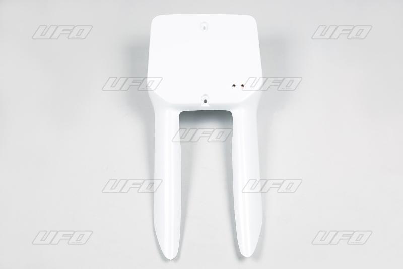 Přední číslová tabulka RM-041-bílá