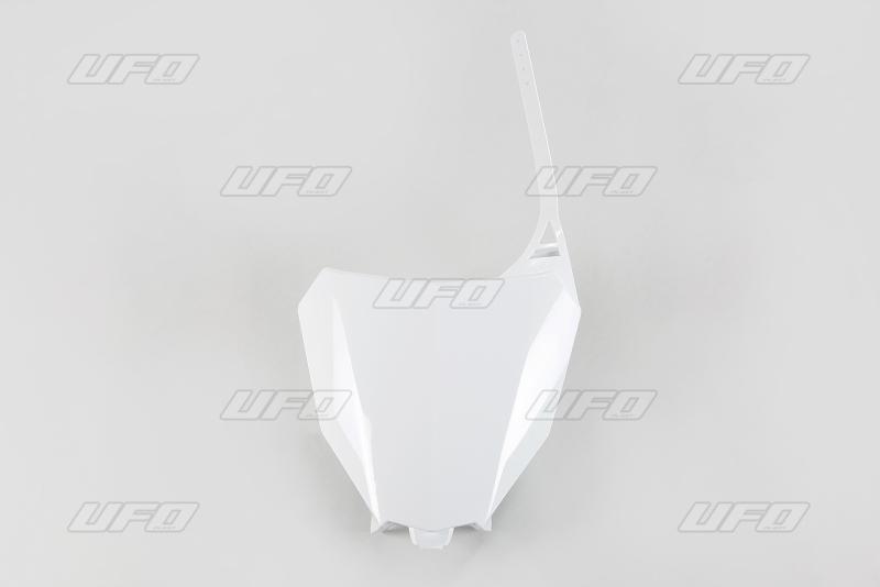 Přední číslová tabulka CRF 450R-450RX 2017--041-bílá