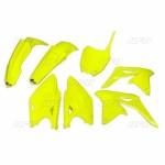 Sada plastů RMZ 250 2014-2017-DFLU-neon/žlutá