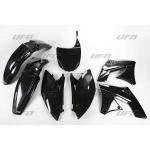Sada plastů UFO KXF 250 2009-001-černá