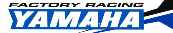 Nálepka na kyvnou vidlici Yamaha