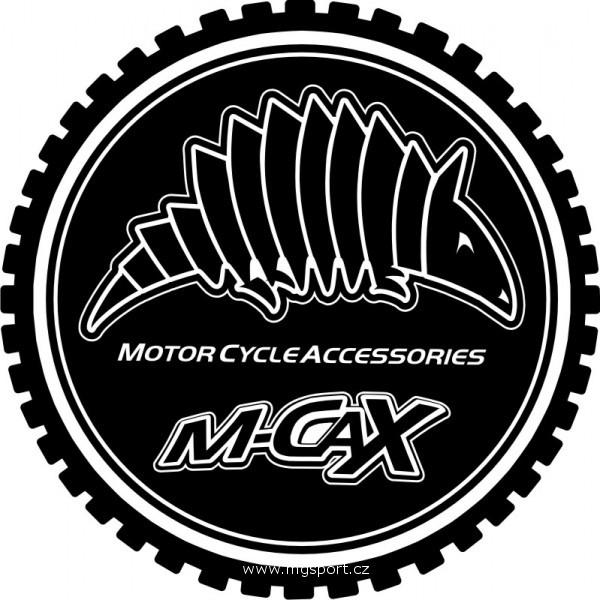 Nálepka M-CAX - logo