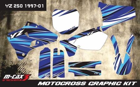 Design 36 - Yamaha YZ 125  1996 - 2001, Yamaha YZ 250  1996 - 2001