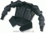 Chránič těla s chrániči a led. pasem-K-černá