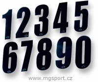 Startovní číslo MX 21cm