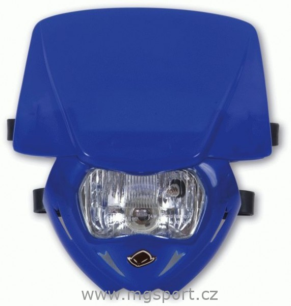 Maska se světlem Panther univ.-089-modrá