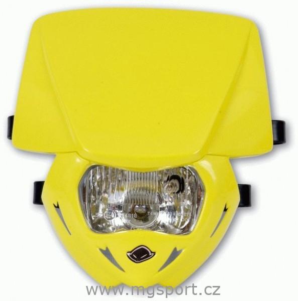 Maska se světlem Panther univ.-102-žlutá RM 02-