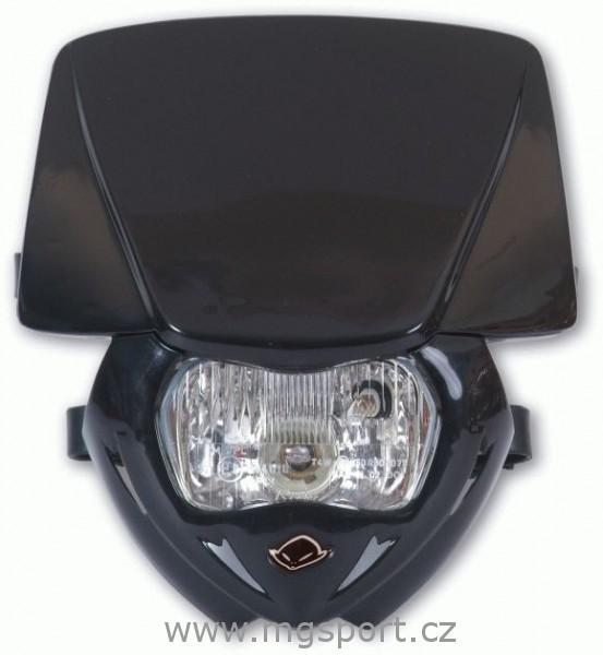 Maska se světlem Panther univ.-001-černá