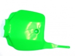 Přední číslová tabulka-025-zelená neonová