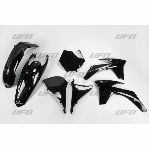 Sada plastů KTM SX 2011-001-černá