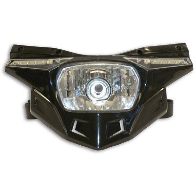 """Maska se světlem spodní díl """"Stealth"""" (12V 35/W & LED)"""