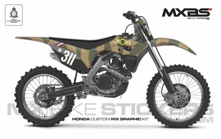 Design 162 - Honda CRF R 450  2017 - 2019, Honda CRF R 250  2018 - 2019