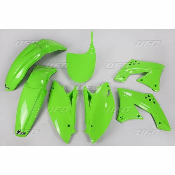 Sada plastů UFO KXF 250 2009-026-zelená KX org.