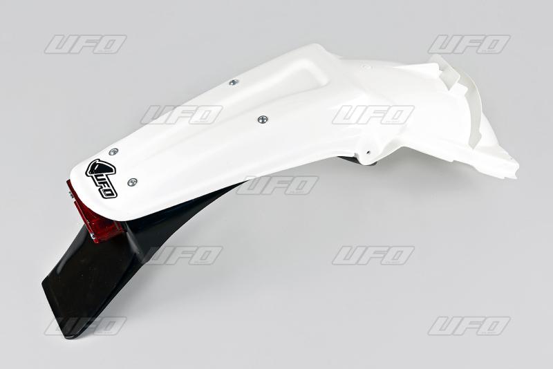 Zadní blatník enduro-047-bílá KX