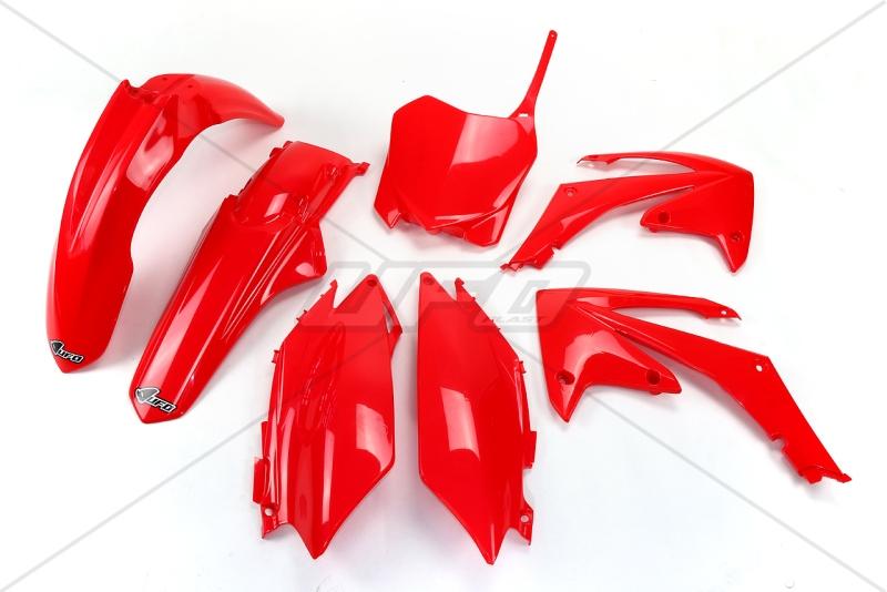 Sada plastů CRF 250-450 2011--070-červená Honda