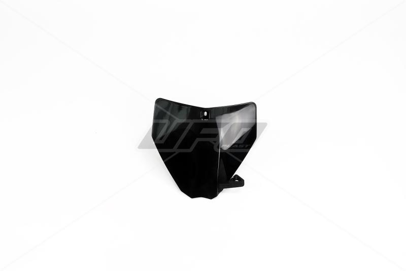 Přední číslová tabulka TC-FC -001-černá