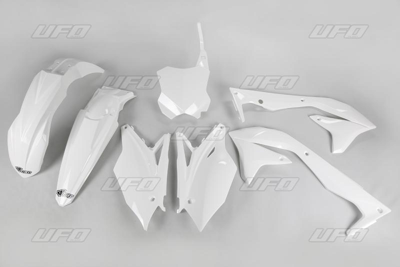 Sada plastů UFO KXF 450 2018-047-bílá KX