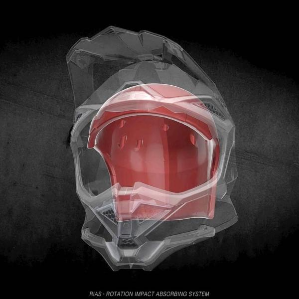 Přilba UFO Diamont - červená