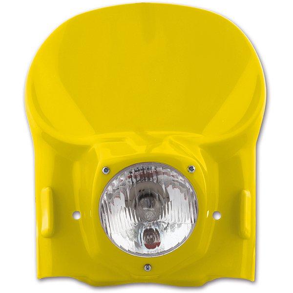 Maska se světlem-D-žlutá