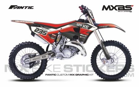 Design 211 - Fantic XE 125  2021 - 2021
