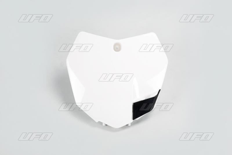 Přední číslová tabulka KTM-047-bílá KX