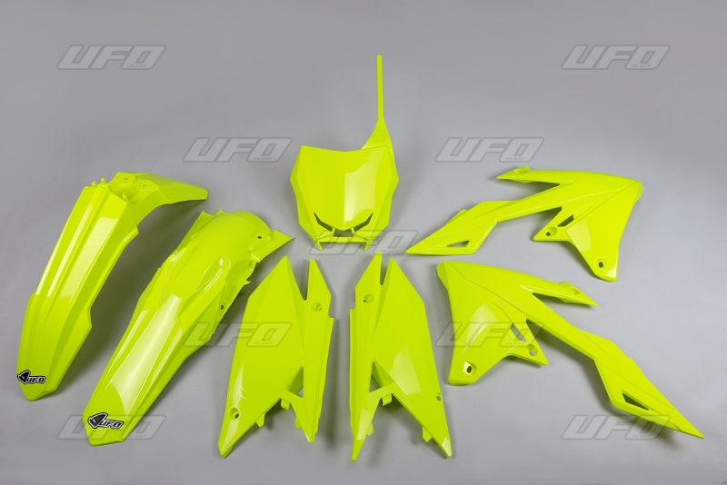 Sada plastů RMZ RMZ 450 2018-DFLU-neon/žlutá