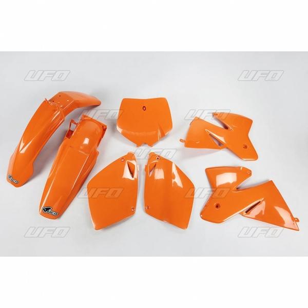 Sada plastů UFO KTM2T/4T 00-127-oranžová (03-)