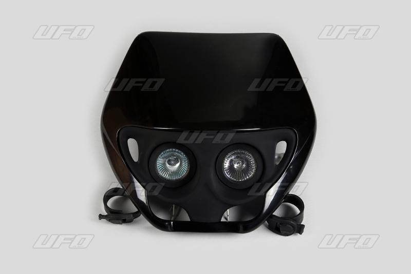 Maska se světlem CRE-001-černá