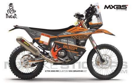 Design 193 - KTM RALLY REPLICA 450  2019 - 2021, Husqvarna RALLY 450  2019 - 2021
