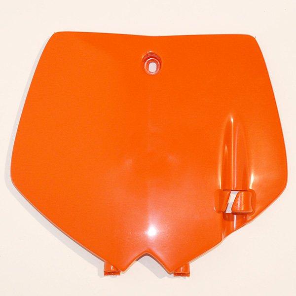Přední číslová tabulka KTM