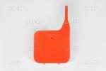 Přední číslová tabulka-121-červená CR90