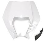 Plast pro OEM masku se světlem EXC 2009-2013-047-bílá KX