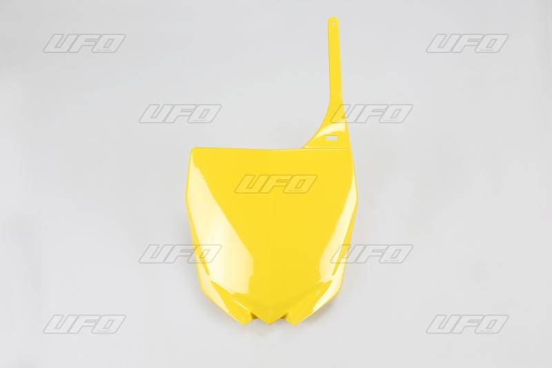 Přední číslová tabulka YZ UFO Design-101-žlutá -2001