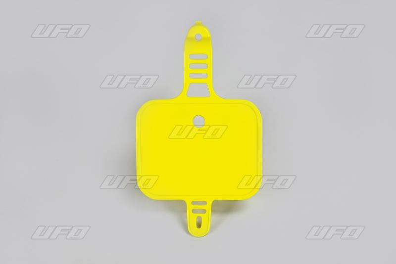 Přední číslová tabulka CRF 50-102-žlutá RM 02-