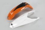 Sada blatníků KTM 85 2013-2017-999W-standartní barvy - BÍLÁ