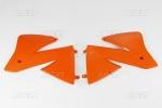Spoiler KTM EXC-127-oranžová (03-)