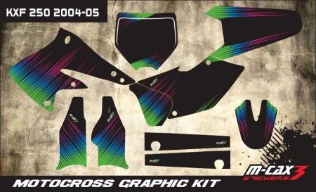 Design 6 - Kawasaki KXF 250  2004 - 2005