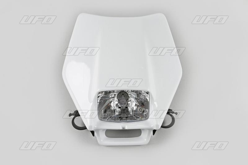 Maska se světlem 12V halogen-047-bílá KX