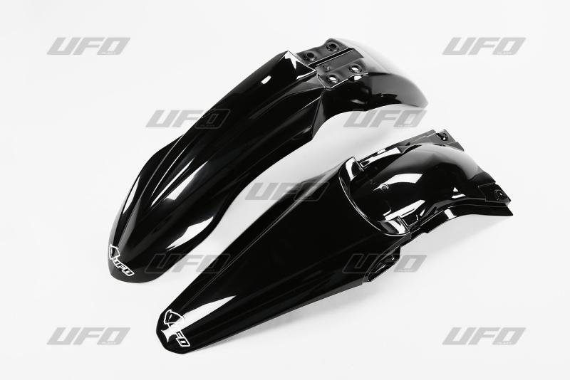 Sada blatníků KXF 250 2013-001-černá