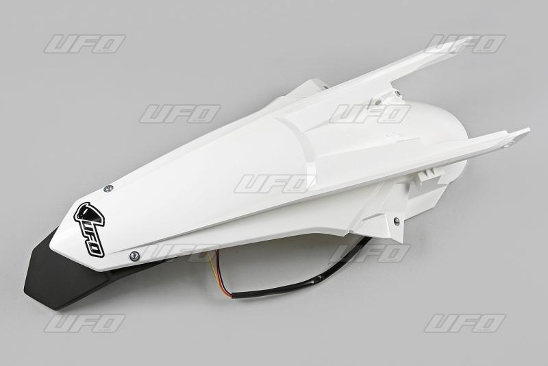 Zadní blatník SX-SXF s LED světlem (2016) -047-bílá KX
