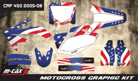 Design 15 - Honda CRF R 450  2005 - 2008