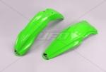 Sada blatníků KXF 450 2013-2014 & KXF 250 2014-026-zelená KX org.
